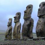 I Moai sull'isola di Pasqua