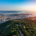 Vista aerea di Trieste