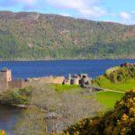 Castello di Urquhart sul lago di Loch Ness