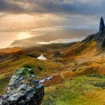 Old Man of Storr sull'isola di Skye (Ebridi Interne)