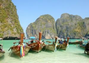 Bangkok (volo) Krabi (barca) Koh Phi Phi.jpg