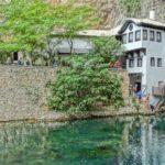 Il villaggio di Blagaj, vicino a Mostar