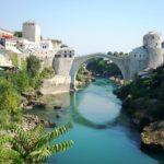 Il famoso ponte di Mostar