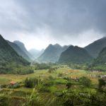 Panorama delle montagne