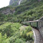 Norvegia in treno