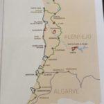 Mappa della Rota Vicentina