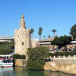 Fiume Guadalquivir a Siviglia