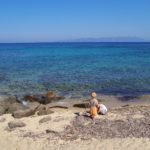 Spiaggia dell'isola del Giglio