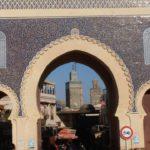 La Porta Blu di Fez, punto di incontro principale della medina