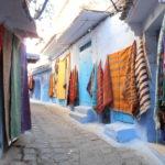 Tappe e colore per le vie di Chefchaouen