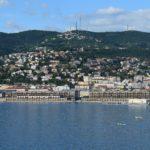 Trieste vista dal faro della Lanterna