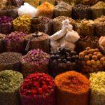 Negozio di spezie nel souk
