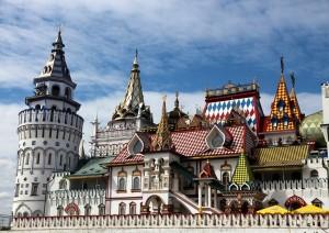 Mosca: La Piazza Delle Cattedrali Nel Cremlino.jpg