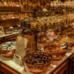 Uno dei tanti negozi di cioccolato