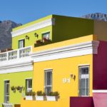 I colori del quartiere di Bo-Kaap a Cape Town