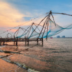 Chinese fishing nets a Cochin