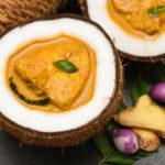 Piatto di pesce tipico del Kerala