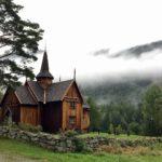 Tipica chiesa in legno