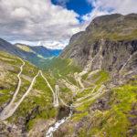Strada turistica nazionale Trollstigen, una delle strade più assurde del mondo!