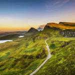 Quiraing sull'isola di Skye (Ebridi Interne)