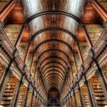 Public Library nel Trinity College di Dublino