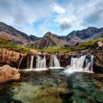 Fairy Pools sull'isola di Skye