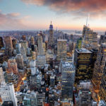 Veduta di New York
