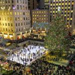 Pista di pattinaggio sul ghiaccio al Rockefeller Center