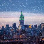 Nevicata a New York