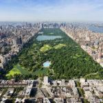 Veduta di New York e Central Park