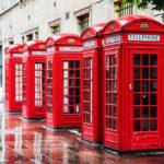 Tipiche cabine del telefono