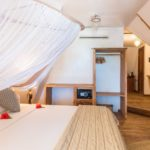 Una delle camere del Villa Kiva