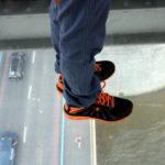 Camminamento con fondo trasparente sul Tower bridge (Foto di Valentina Caccavale)