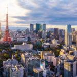 Veduta di Tokyo