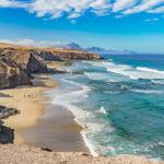 Playa del Viejo Rey sulla costa ovest