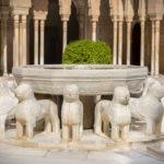 Patio dei Leoni all'Alhambra di Granada
