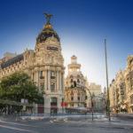 La Gran Via a Madrid