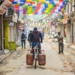 Per le vie di Thamel, a Kathmandu