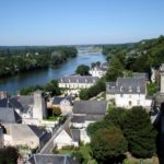 Veduta di Amboise dal castello