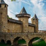 Carcassonne, lungo il Canal du Midi