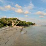 Il mare e le spiagge delle isole del Rosario