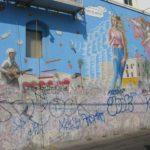 Uno dei murales della Hippie Venice Beach a Los Angeles