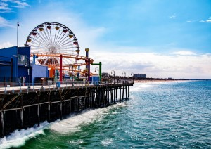 Santa Monica - Malibù - Santa Barbara - San Simeon (360 Km).jpg