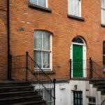 Tipiche porte colorate di Dublino