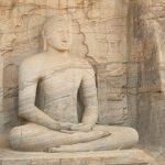 Le grandi statue del Buddha di Polonnaruwa