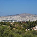 Atene, panorama sulla città bianca