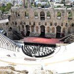 Anfiteatro romano di Erode Attico, Acropoli