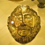 Maschera funebre in lamina d'oro detta di Agamennone, Museo Archeologico Nazionale di Atene