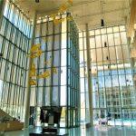 Opera architettonica vista dall'interno