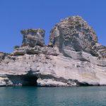 Milos, in barca